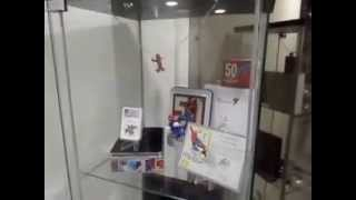 Silver Coins Display Cabinet