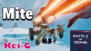 Battle of Titansのゲームプレイ動画です 武器破壊後に全裸放置しようか...