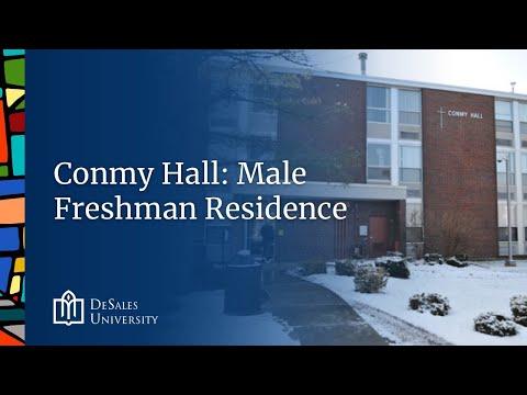 5. Conmy Hall: Male Freshman Residence, DeSales University