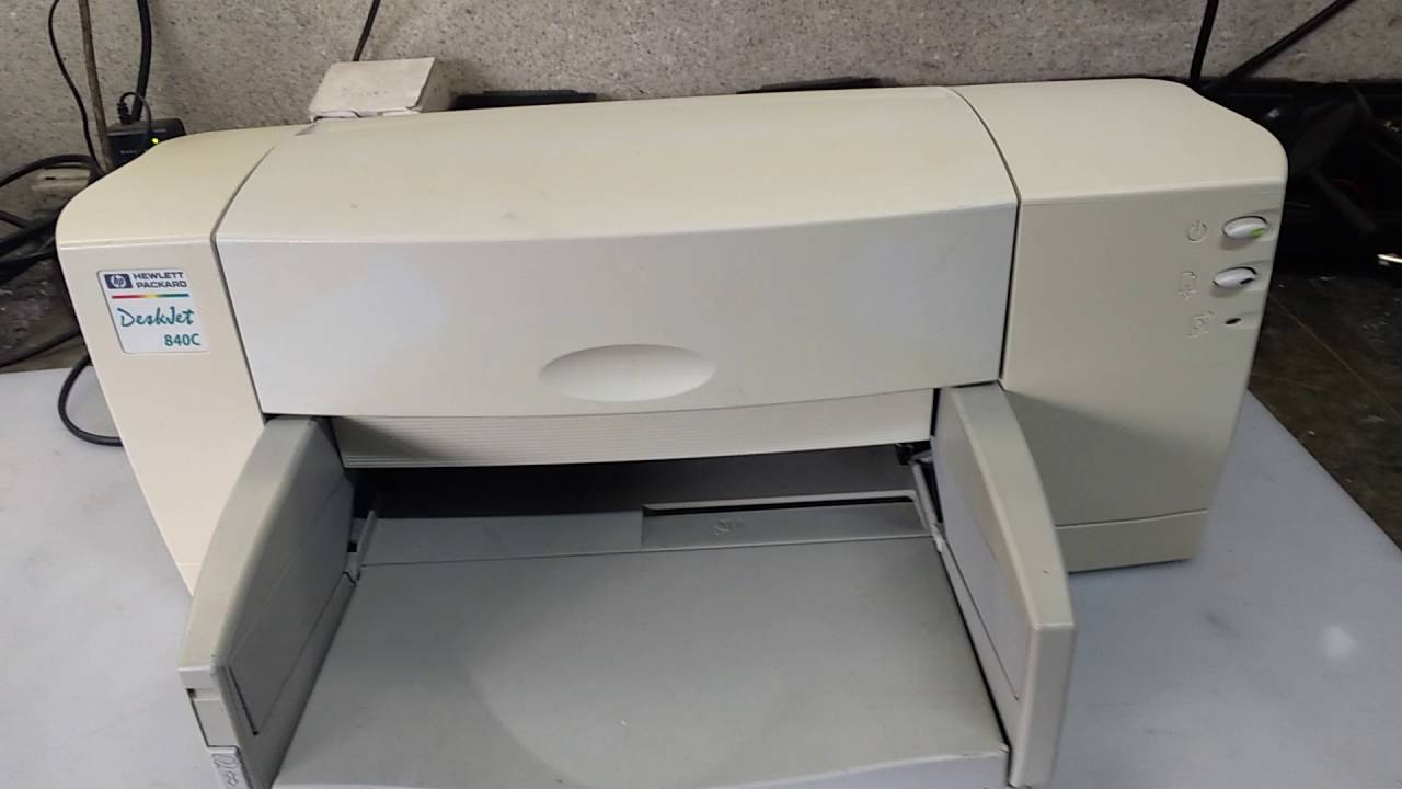 HP DESKJET 840C PLUS DRIVER WINDOWS XP