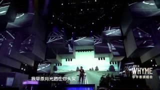 【HD】2014.10.05 李宇春2014WhyMe大连演唱会 16《下个,路口,见》合并字幕版by思湘 Li Yuchun Chris Lee Concert