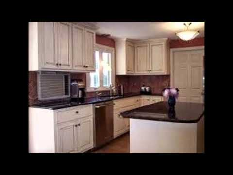 Linen White Kitchen Cabinets - YouTube