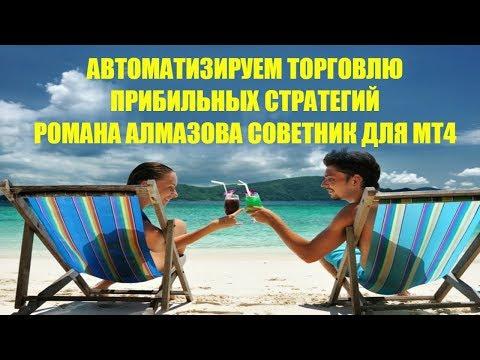 Автоматическая Торговля Прибыльной Стратегией Романа Алмазова для Бинарных Опционов Советник MT4