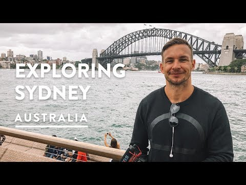 1 DAY IN SYDNEY - FREE WALK TOUR, BRIDGE, OPERA HOUSE | Sydney City Travel Vlog 146, 2018