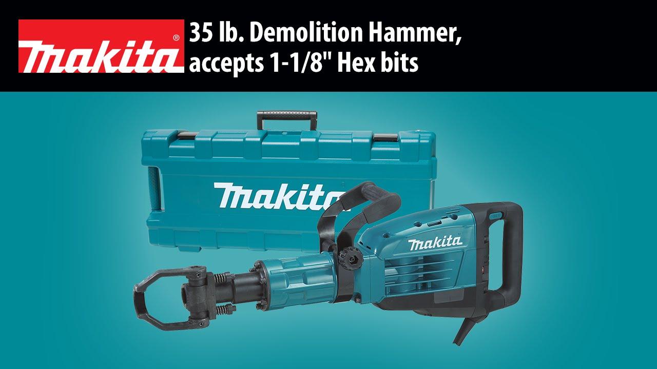 MAKITA 35 lb. Demolition Hammer (HM1307CB) - YouTube