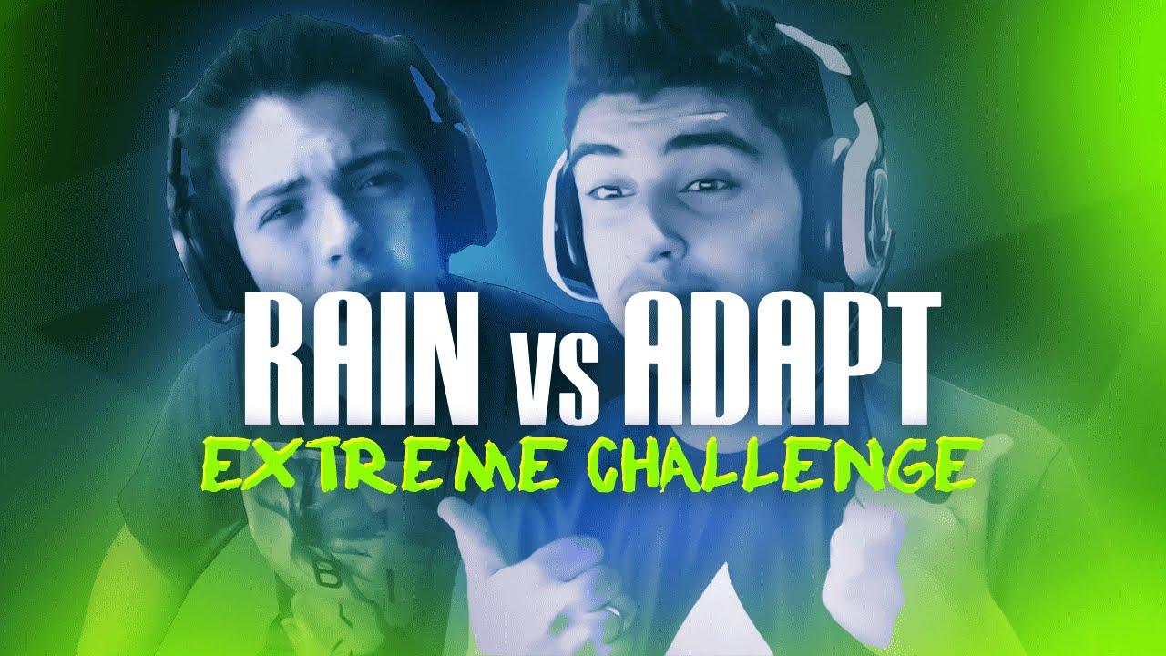 Faze Rain Vs Faze Adapt Extreme Challenge Youtube