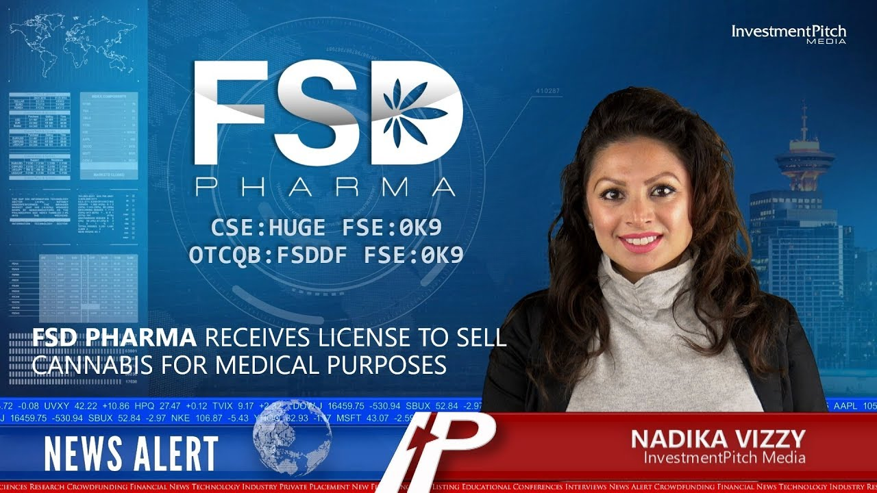 InvestmentPitch Media Video Discusses FSD Pharma and its New