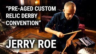 """Meinl Cymbals - Jerry Roe - """"Pre-Aged Custom Relic Derby Convention"""""""