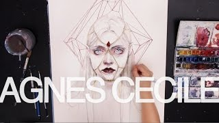 sped up painting - Queen of Diamonds
