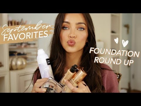 SEPTEMBER beauty favorites + foundation round up thumbnail