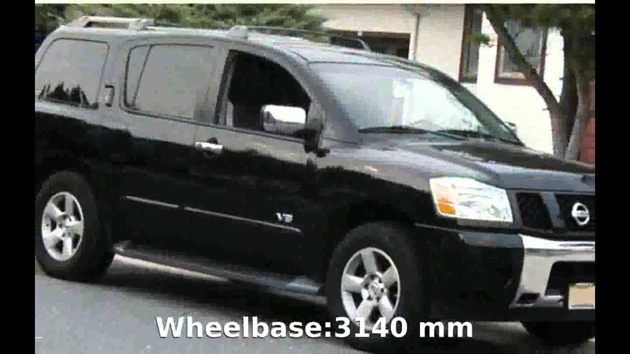 medium resolution of 2004 nissan armada 4x4 le walkaround and info
