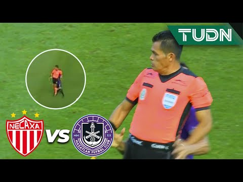¿La anotaron? ¡Falta al árbitro! | Necaxa 1-0 Mazatlán | Guard1anes 2020 Liga BBVA MX - J4 | TUDN