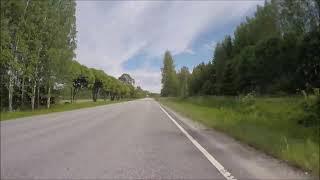 Finland     360 km/h - Car trip -  Savonlinna - Punkaharju