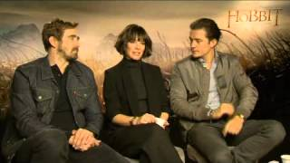 top billing interviews the hobbit cast full insert