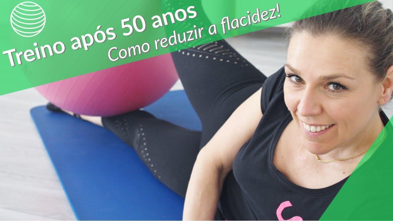 Como treinar os músculos após 50 anos e reduzir a flacidez!