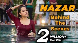 Nazar   Ansh & Piya in the pool   Behind the scenes   Star Plus