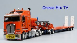 TWH Kenworth K200 + Drake 3x8 Swingwing Trailer and 2x8 Dolly by Cranes Etc TV