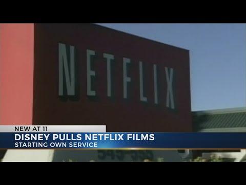 Disney plans to drop Netflix, start its own service