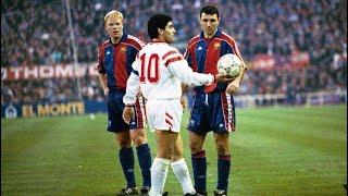Diego Maradona ● Sevilla FC ►The Return To Europe◄  ||HD||