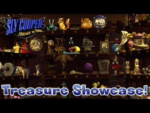 Sly Cooper: Thieves in Time - Treasure Showcase! (All Treasures Shown)