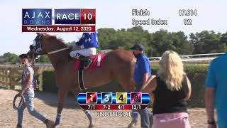 Ajax Downs August 12, 2020 Race 10