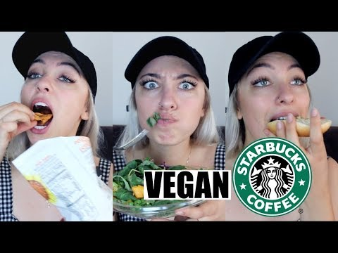 TASTING VEGAN STARBUCKS *FOODS* | #veganized | Supreme Banana