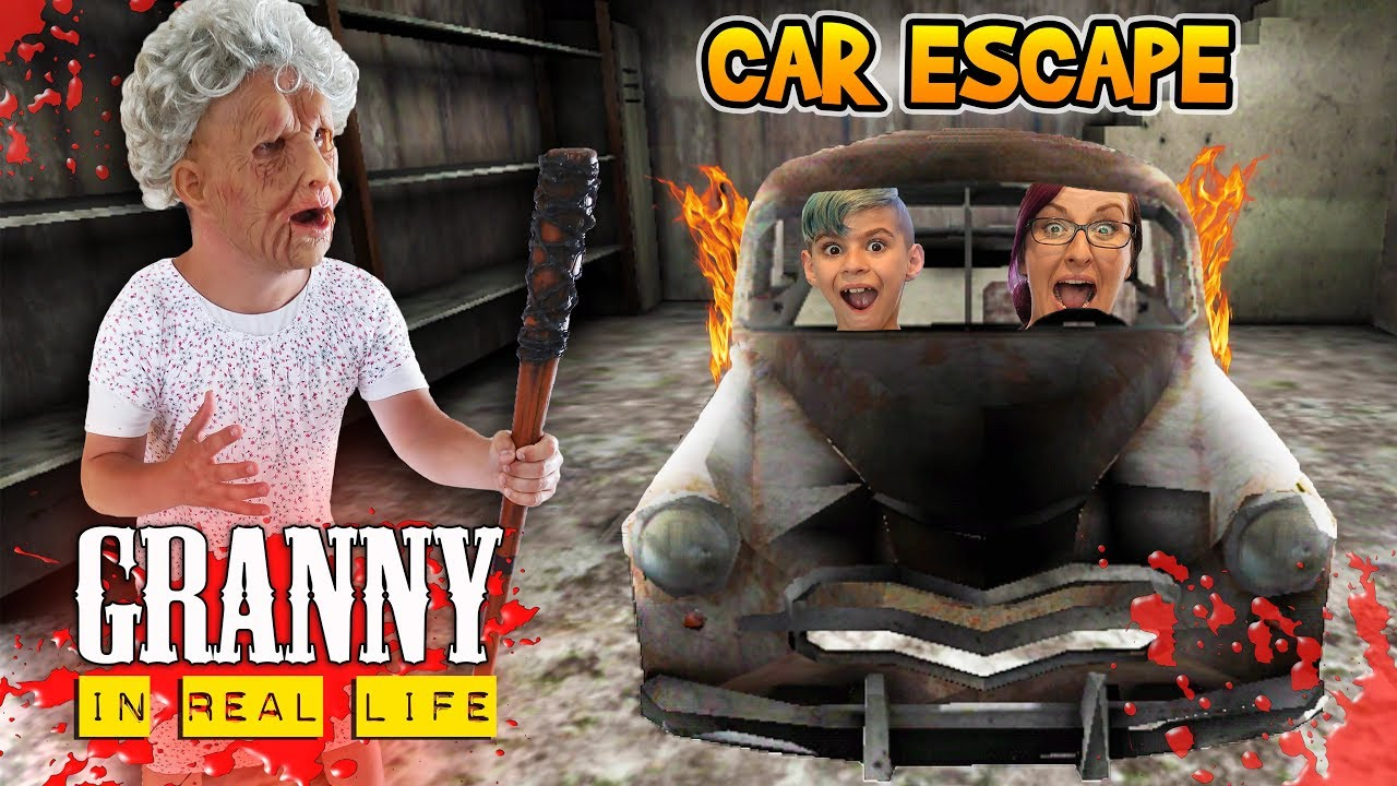 Download Granny Car Escape In Real Life! Horror Game (FUNhouse Family)