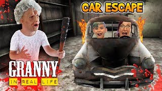 Download Granny Car Escape In Real Life! Horror Game (FUNhouse Family) Mp3 and Videos