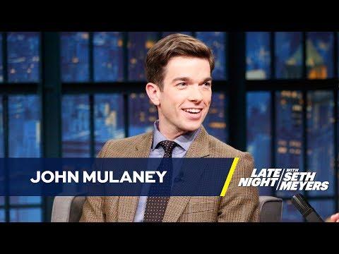 John Mulaney Bumped Seth Meyers for Steve Martin
