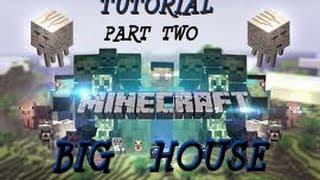 MINECRAFT - Big House Build: Tutorial Part 2 - The Floor