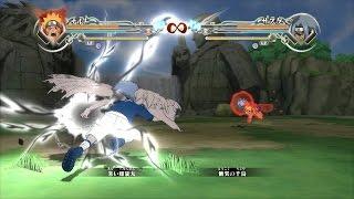 naruto shippuden ultimate ninja storm 4 naruto fox vs sasuke demon