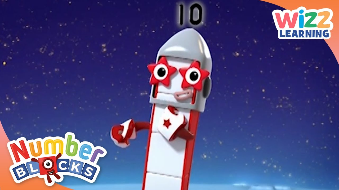 Numberblocks - 1 to 10 | Learn to Count | Wizz Learning