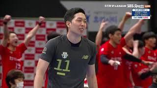 [V리그] 20-21시즌   한국전력 vs 현대캐피탈 …