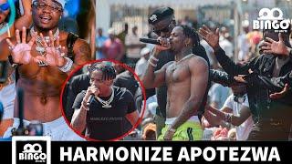 Video DIAMOND Ampoteza HARMONIZE Jionee Mashabiki Wamponda mbele ya Mama Samia na Mwakyembe