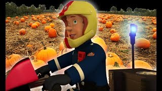 Fireman Sam US 🚒Fire in the Pumpkin Patch ! | Fire Rescue | Best Rescue Compilation 🔥Kids Movie