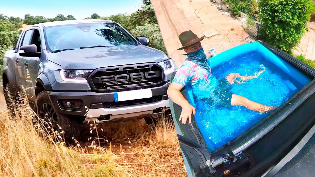 Ford Raptor | Como Es Vivir Con una Pickup de 70000$? (Con Piscina)