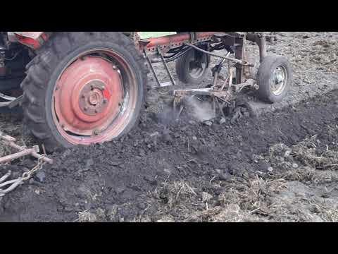 плуг на трактор  т16 часть 2