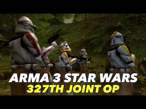 Arma 3 Star Wars: 327th and 212th Joint Operation - Beach Assault!