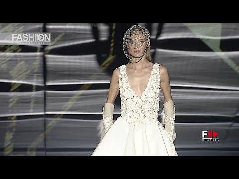 ISABEL ZAPARDIEZ Barcelona Bridal Fashion Week 2018 - Fashion Channel