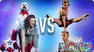 Ashleigh & Pudsey vs Spelbound | Britain's Got Talent World Cup 2018