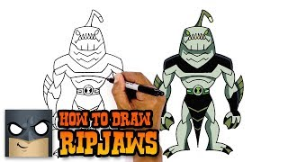 Ben 10   How to Draw Ripjaws (Art Tutorial)