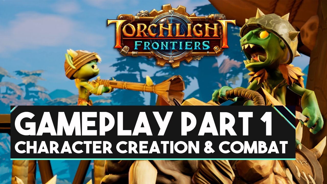Torchlight Frontiers Gameplay! Closed Alpha 3 | Forged Class - Den of  Upheaval Dungeon