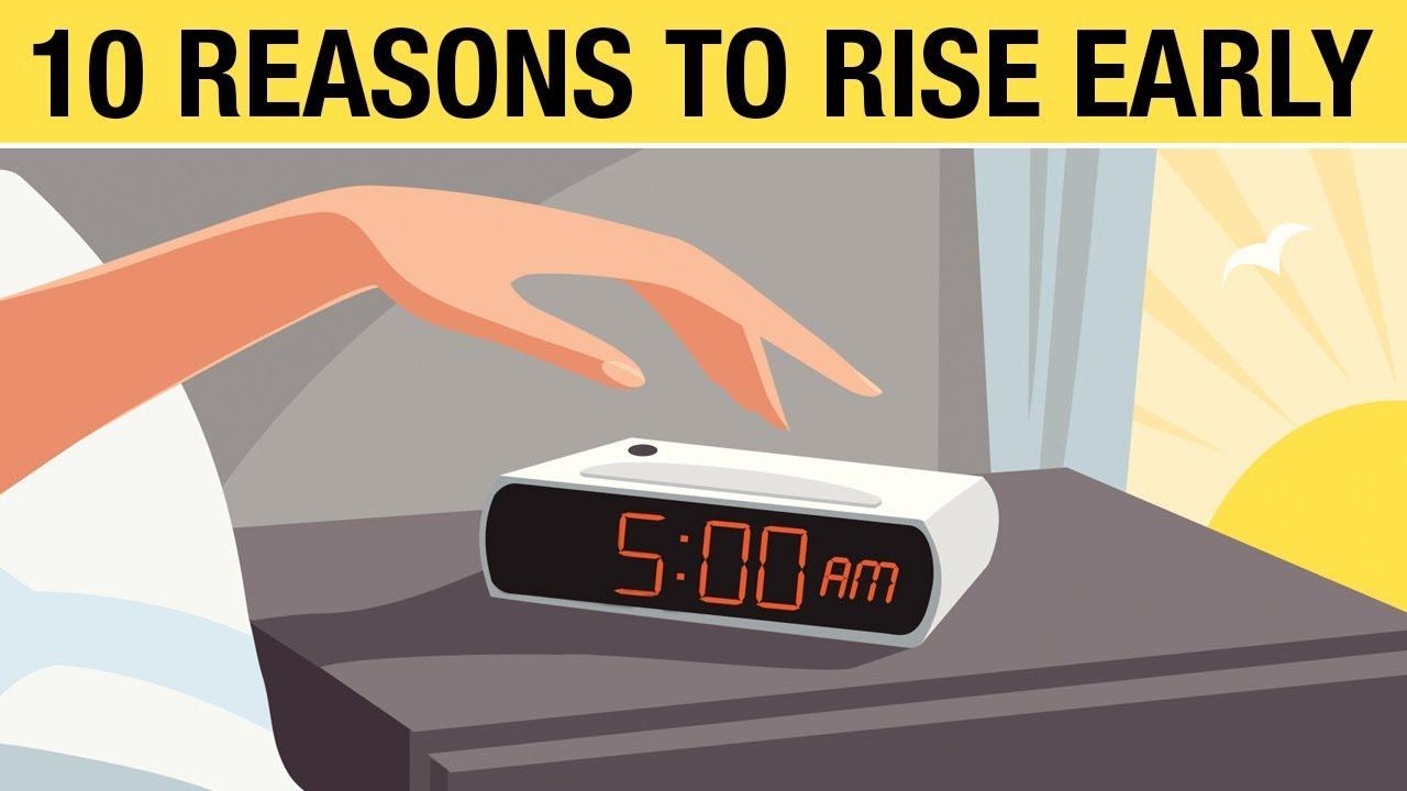 wake up at 5 am amazing benefits of waking up early youtube