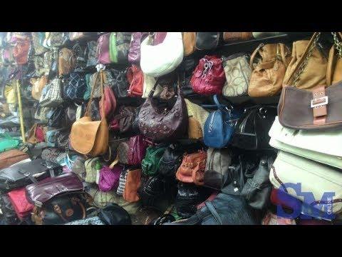 rao bán balo túi sách đồng giá 100k tại hội chợ