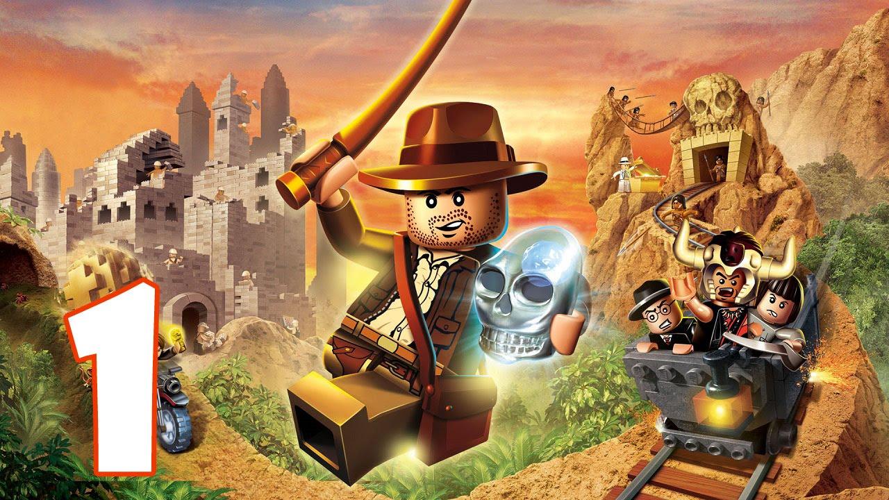 Lego Indiana Jones Walkthrough - Complete Game - YouTube