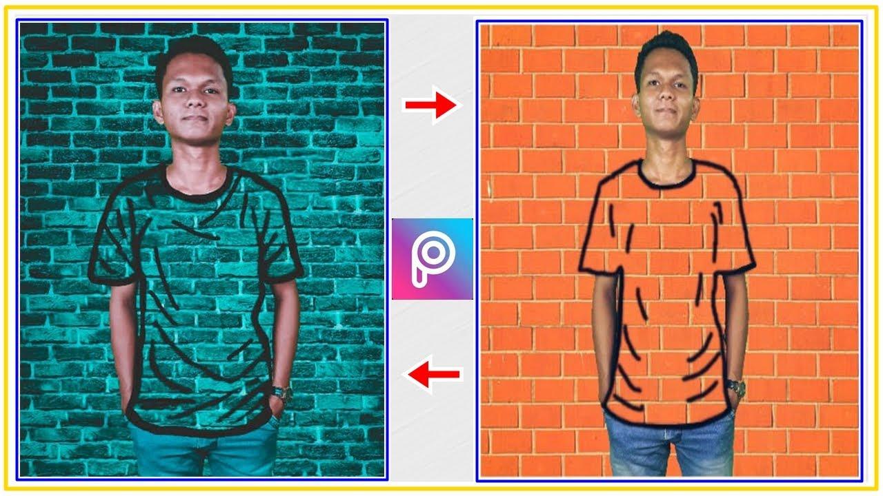 Cara Edit Foto Kekinian Efek Baju Transparan di Picsart ...