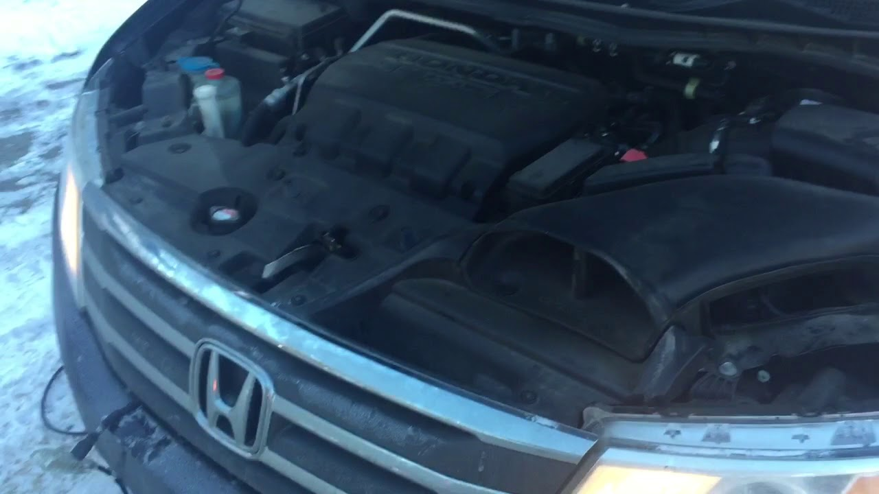 How To Booster Honda Odyssey With Dead Battery