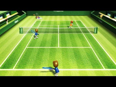 The Most Intense Wii Tennis Match Ever (VIDEO)