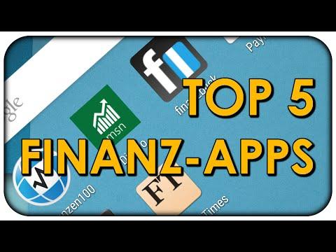 Die Top 5 Finanz Apps für Android & iPhone - KOSTENLOS 📲