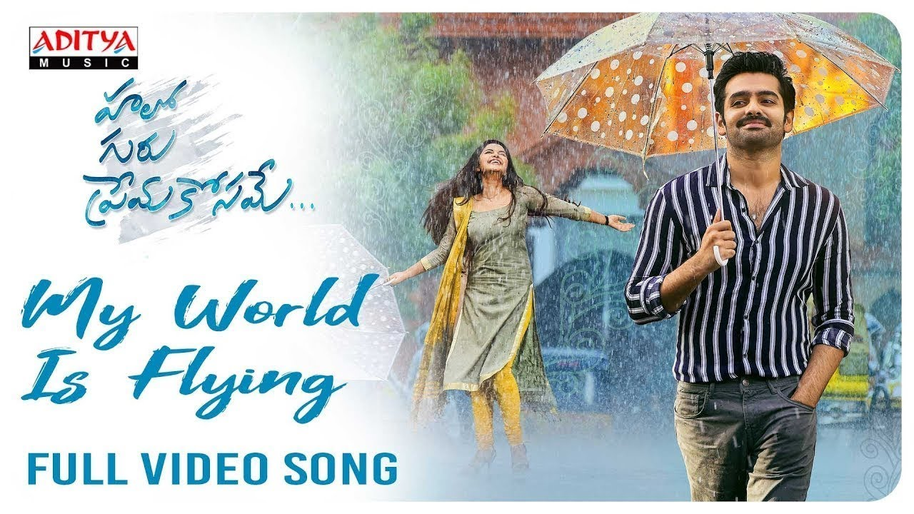 My World Is Flying Full Video Song (4K) || Hello Guru Prema Kosame Video  Songs || Ram, Anupama